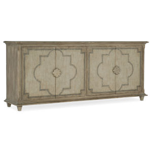 Alfresco Weathered Shale and Light Tusk Entertainment Console