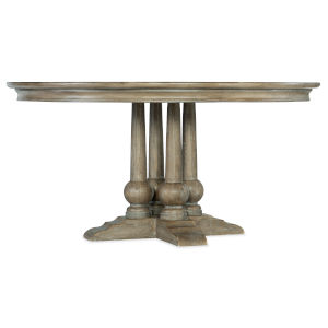 Alfresco Weathered Shale Round Dining Table
