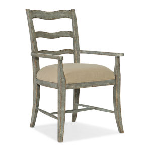 Alfresco Oyster Upholstered Seat Arm Chair