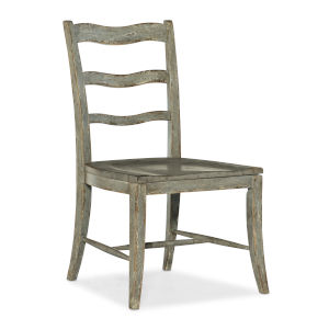 Alfresco Oyster Ladder Back Side Chair