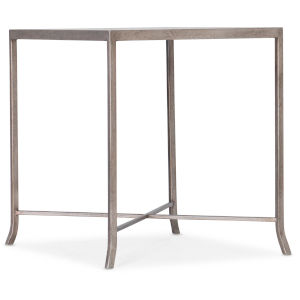 Alfresco Light Silver End Table