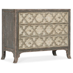 Alfresco Dark Gray and Light Taupe Bachelors Chest