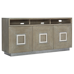 Affinity Gray Entertainment Console