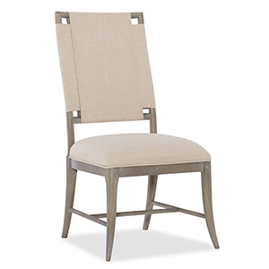 Affinity Gray Upholstered Side Chair