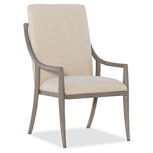 Affinity Gray Host Chair
