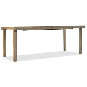 Pacifica Light Wood 78-Inch Rectangle Dining Table with Two 18-Inch Leaves