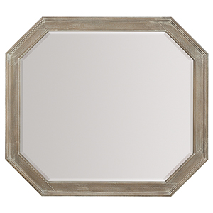 Pacifica Light Wood Mirror