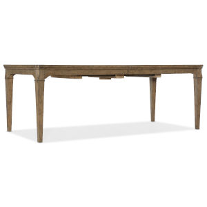 Montebello Carob Brown Rectangle Dining Table