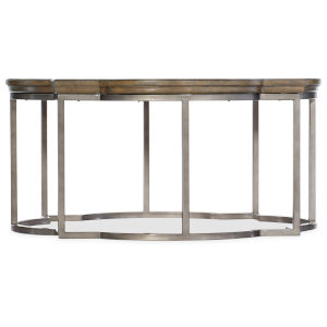 Montebello Carob Brown Round Cocktail Table