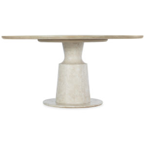 Cascade Taupe Round Pedestal Dining Table