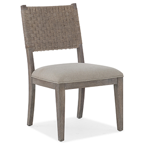 Miramar Carmel Gray Artemis Side Chair