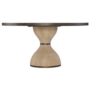 Miramar Point Reyes Dark Wood Botticelli 60 In. Round Dining Table