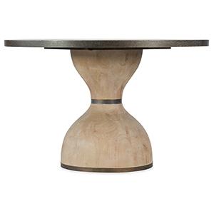 Miramar Point Reyes Dark Wood Botticelli 48 In. Round Dining Table
