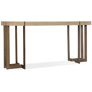Miramar Point Reyes Light Wood Max Console Table