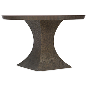 Miramar Aventura Dark Wood Greco 48 In. Round Dining Table
