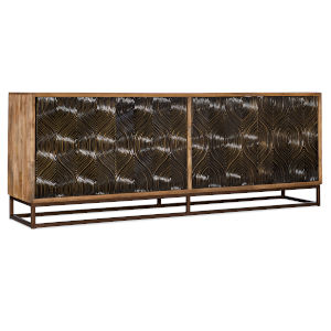 Medium Wood Entertainment Console