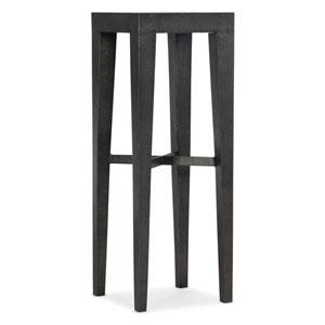 Melange Dark Wood Morris Bunching Pedestal End Table