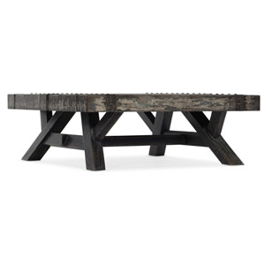 Melange Black Exton Cocktail Table