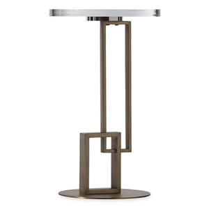 Melange Brown Jenner Spot Table