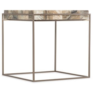 Melange Gold Arden End Table