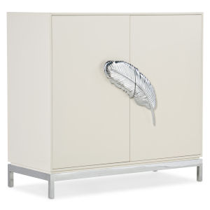 Melange White 40-Inch Dont Leaf Me Cabinet