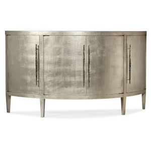 Melange Amberly Taupe and Gray Cabinet