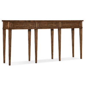 Melange Medium Wood Console Table