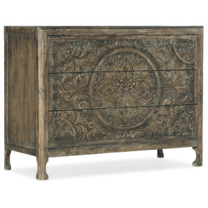 La Grange Wash Off Three-Drawer Chest