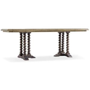 La Grange Barn Wood 60-Inch Console Table