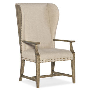 La Grange Barn Wood Host Chair