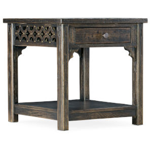 La Grange Antique Varnish End Table