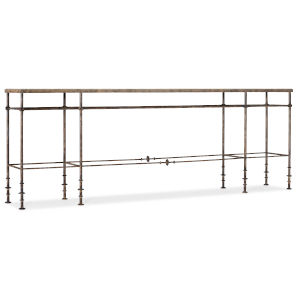 La Grange Oxidized Iron Console Table