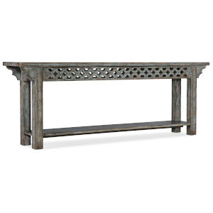 La Grange Blue Console Table
