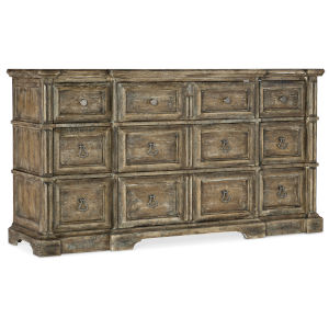 La Grange Wash Off Nine-Drawer Dresser