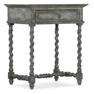 La Grange Blue One-Drawer Nightstand