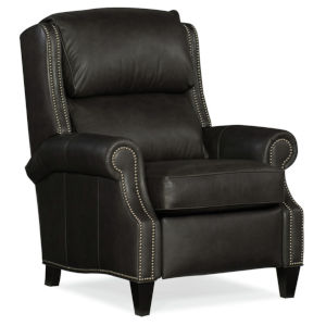 Huss Charcoal 36-Inch Pushback Reclining Chair