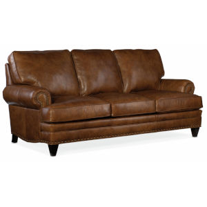 Carrado Sable Brown 88-Inch Stationary 8-Way Tie Sofa