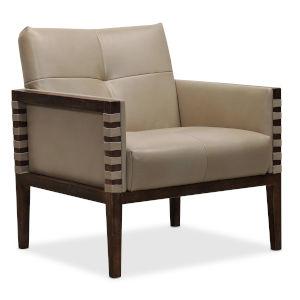 CC Dark Wood 31-Inch Club Chair