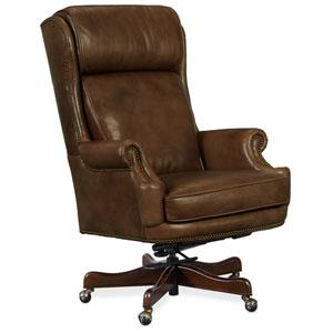 Brown Kevin Executive Swivel Tilt Chair