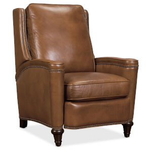 Rylea Wood Brown Push Back Recliner