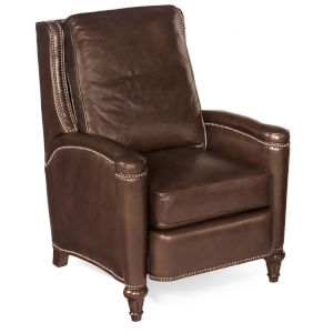 Rylea Dark Wood Push Back Recliner