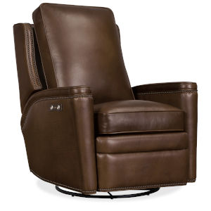 Rylea Brown Swivel Glider Recliner