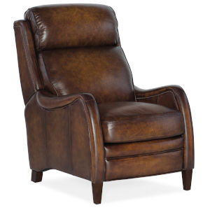 Stark Dark Wood Push Back Recliner