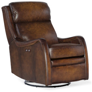 Stark Brown Swivel Glider Recliner