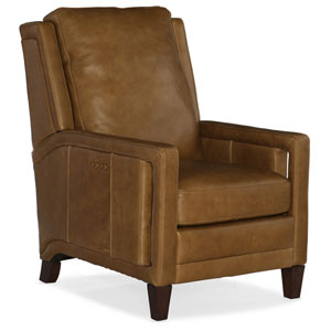 Brown Abshire Power Recliner with Power Headrest