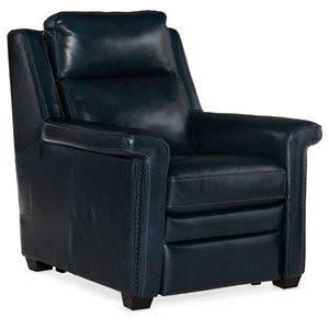 Dark Wood Reynaud Power Motion Recliner with Power Headrest
