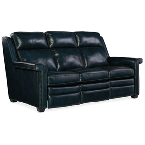 Black Reynaud Power Motion Sofa with Power Headrest