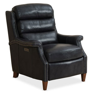 Black Allay Power Recliner with Power Headrest