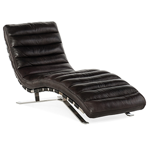 Caddock Black Chaise