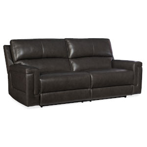 Gable Dark Gray Power Sofa with Power Headrest